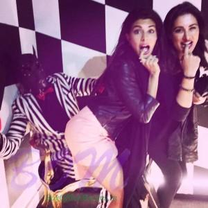 Jacqueline turn naughty with Nargis