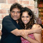 Jamie Lever with dearest daddy and great comedian Johny Lever