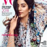 Janhvi Kapoor first cover girl shoot for VOGUE Magazine June 2018 issue