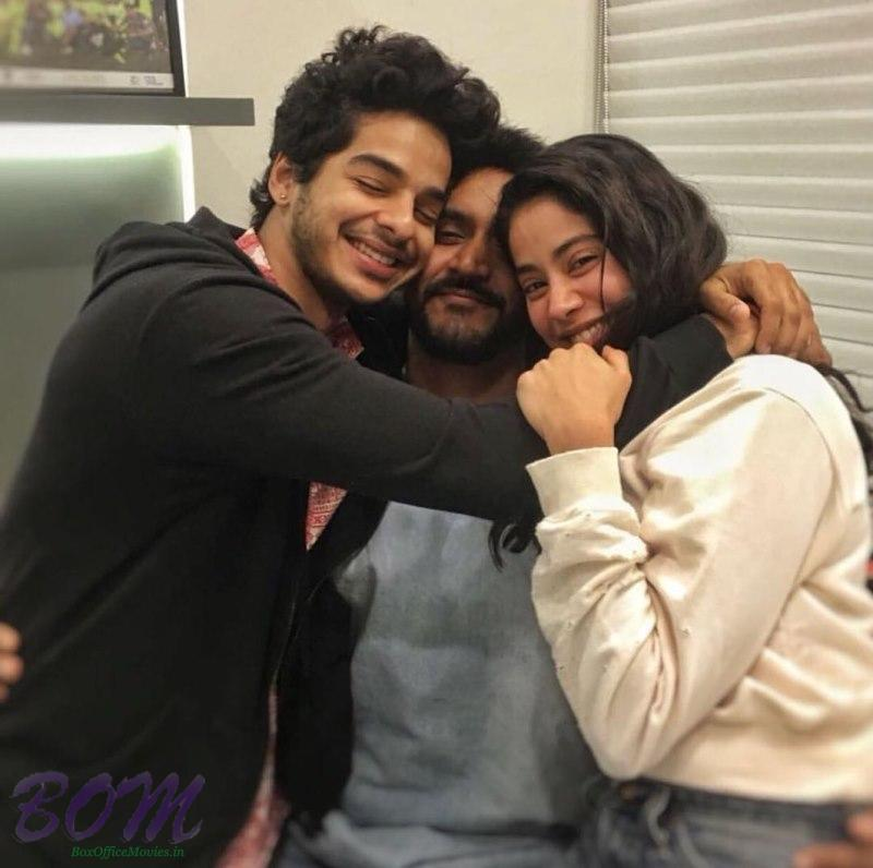Janhvi and Ishaan starrer Dhadak movie team on shooting wrapped