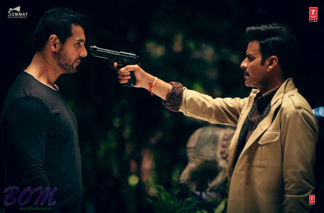 John Abraham and Manoj Bajpayee starrer Satyameva Jayate first look
