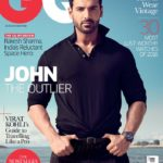 John Abraham cover boy for GQ India August 2016 publication