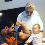 John Abraham family pic with niece