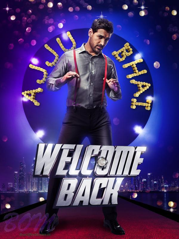 John Abraham first look in Welcome Back