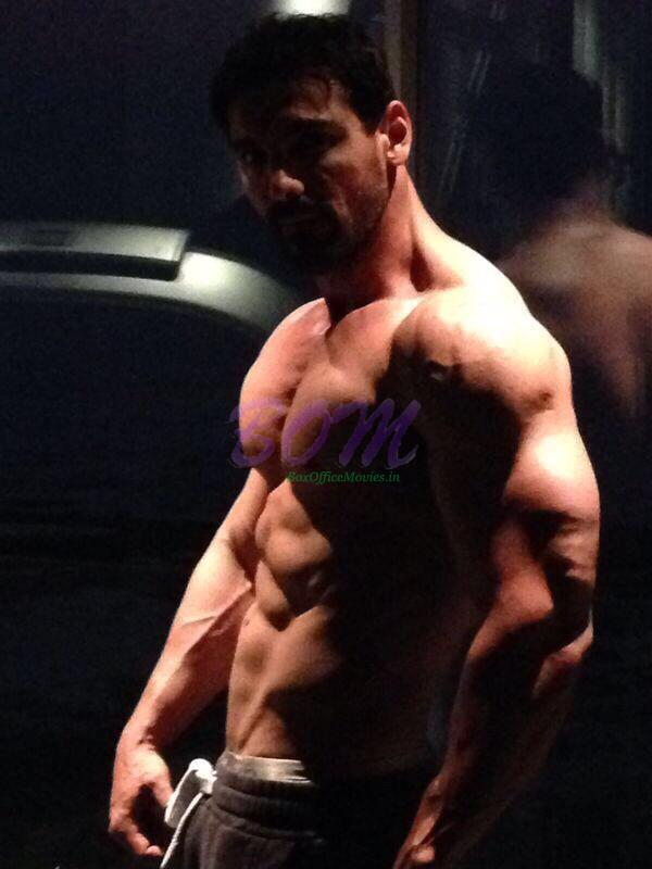 John Abraham preparing for Rocky Handsome and Dishoom movies - Need to push harder!!