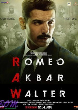 John Abraham starrer Romeo Akbar Walter movie poster to release in cinemas on 12 April 2019
