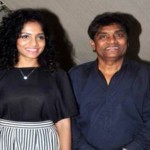 Johnny Lever with daughter Jamie Lever