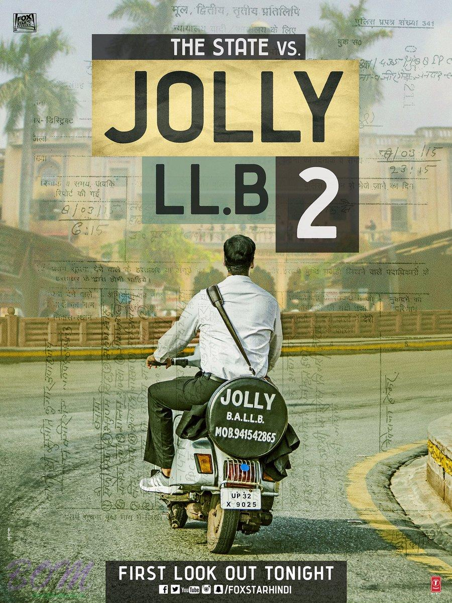Akshay Kumar starrer Jolly LL.B 2 movie poster