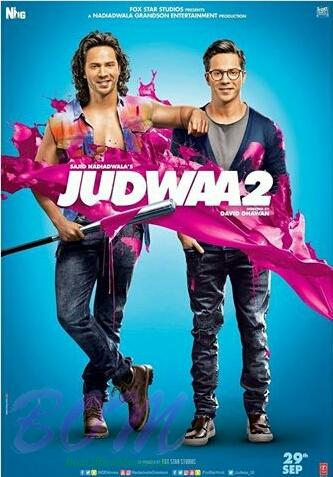 Varun Dawan starrer Judwaa 2 poster, movie releasing on 29 Sep 17.