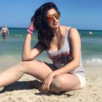 Julie 2 star RAAI Laxmi stunning picture at Miami beach