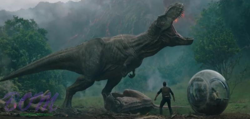 Jurassic World Fallern Kingdom movie scene