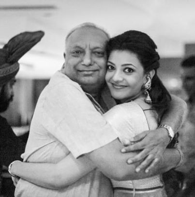 Kajal Aggarwal - My dearest daddy and me