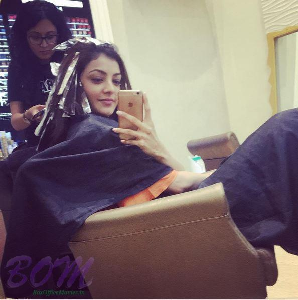 Kajal Aggarwal trying to get a new look this summer