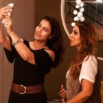 Happy selfie of Kajol Devgn with Gauri Khan