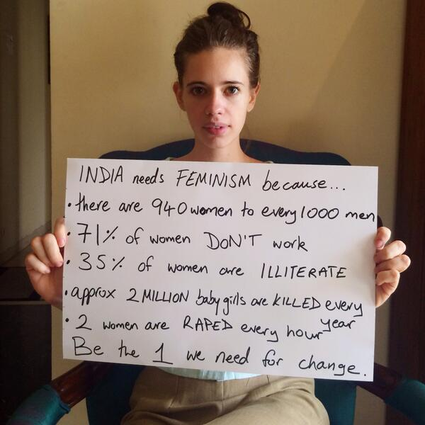 Kalki Kanmani says India Needs Feminism