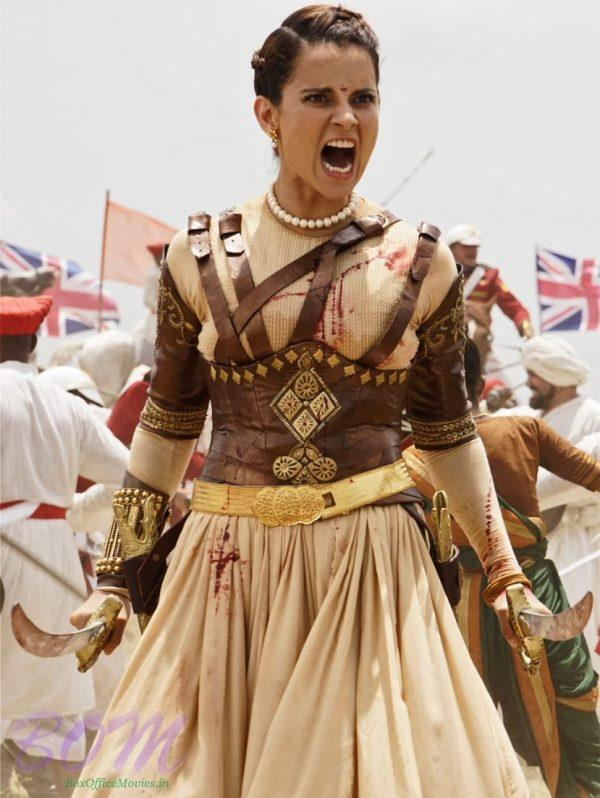 Kangana Ranaut amazing avataar in Manikarnika - The Queen of Jhansi