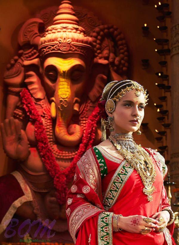 Kangana Ranaut gorgeous look in Manikarnika - The Queen of Jhansi