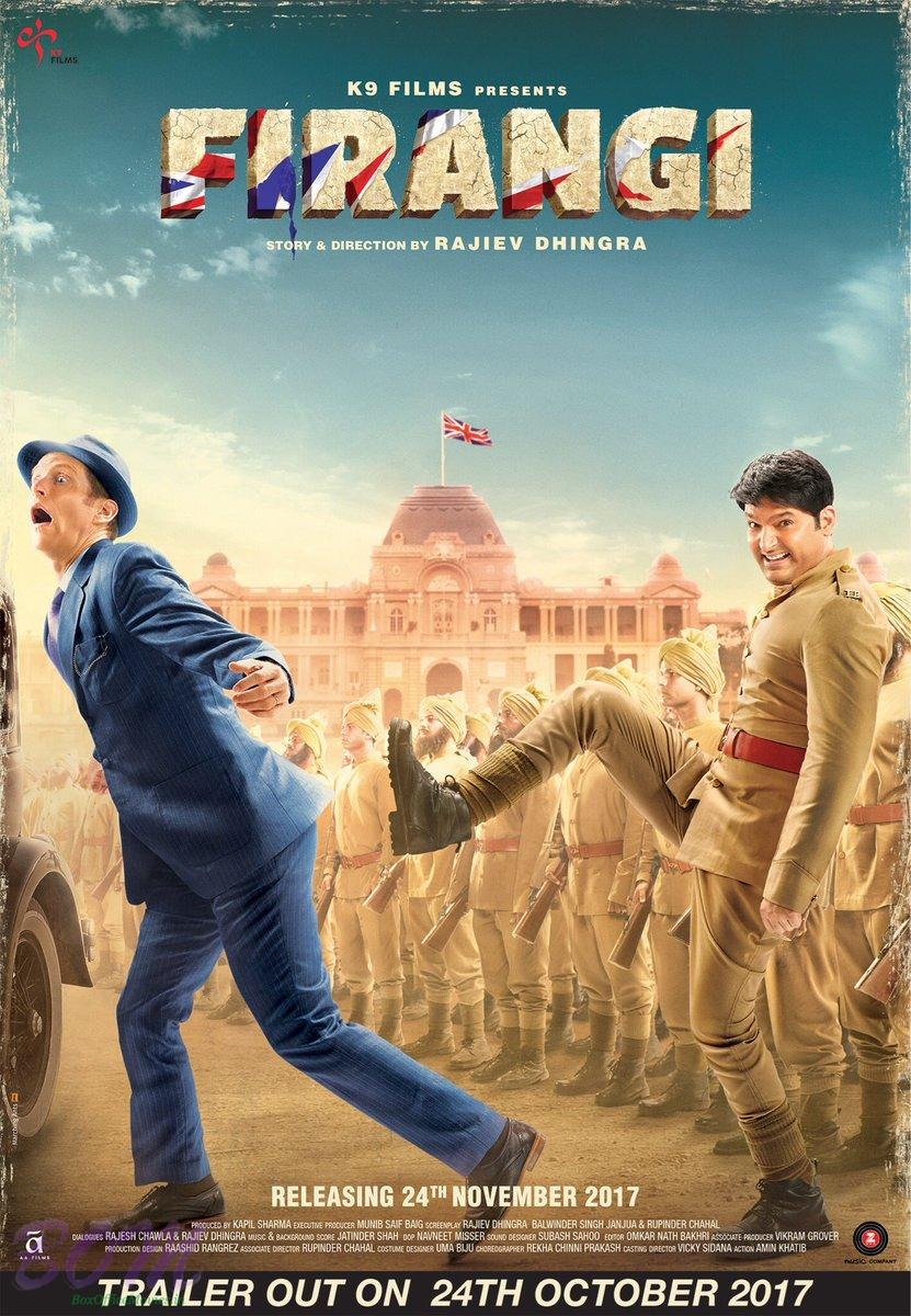 Kapil Sharma and Isihita Dutta starrer Firangi in cinemas on 24 Nov 2017.