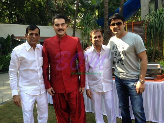 Kapil sharma makes his film debut in Abbas Mastan super comedy movie with Arbaaz Khan