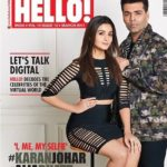 Karan Johar and Alia Bhatt on cover page for Hello March 2017 issue