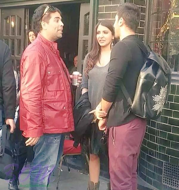 Karan Johar in a conversation with Ranbir and Anushka