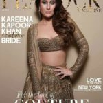 Kareena Kapoor cover girl for The PEACOCK Magazine Aug 2018 issue