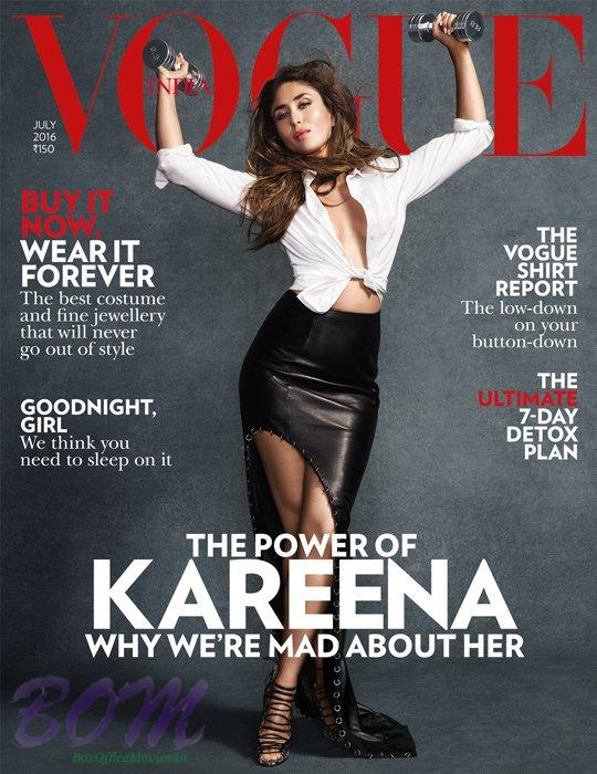 Kareena Kapoor cover girl for VOGUE Magazine Jul 2016