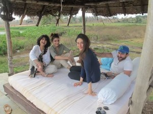 Kareena, Saif and Soha and her in-laws spotted in the wilderness of Nagarhole