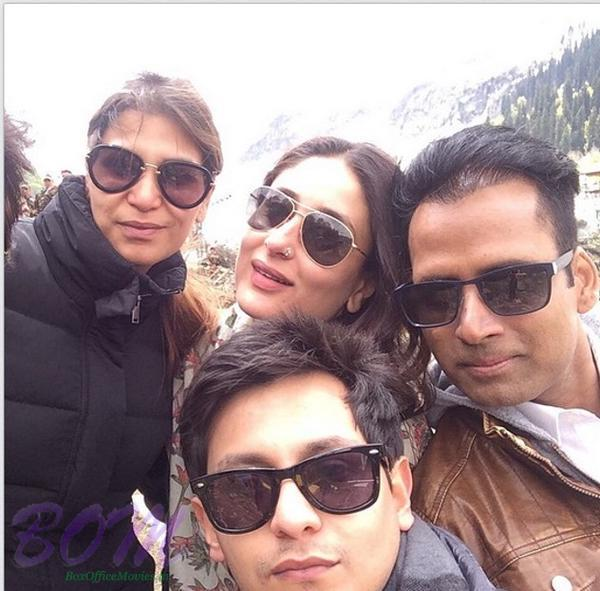 Kareena with her team on the set of 'Bajrangi Bhaijaan'