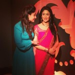Kareena Kapoor visited Madame Tussauds on 18 Aug 2014to see her restyled figure. She donated the sari for this.