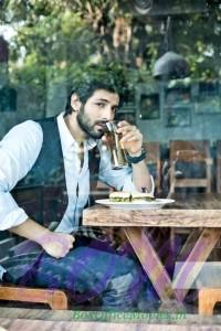 Kartik Aaryan new look from an upcoming movie shoot
