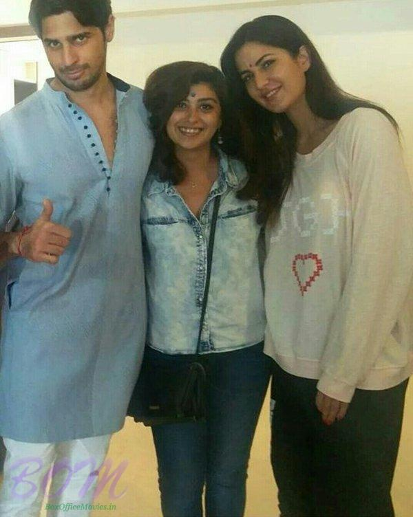 Katrina Kaif and Siddharth Malhotra on wrapping Baar Baar Dekho movie shoot