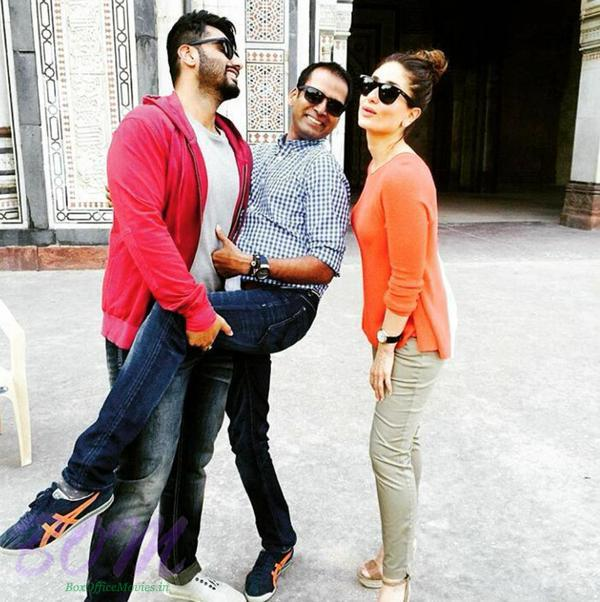 Ki and Ka fun time with Arjun and Kareena