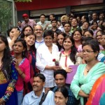 Kiran Bedi ji Picture after watching Mary Kom with Navjyoti Foundation and IVFoundation teachers on 5 Sep 14