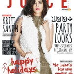Kriti Sanon cover girl for The Juice issue on December 2015