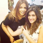 Kriti Sanon new hair style after 4 months on 21st Feb 216
