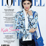 Kriti Sanon on the cover of L'Officiel APRIL 2015 Youth Special Issue
