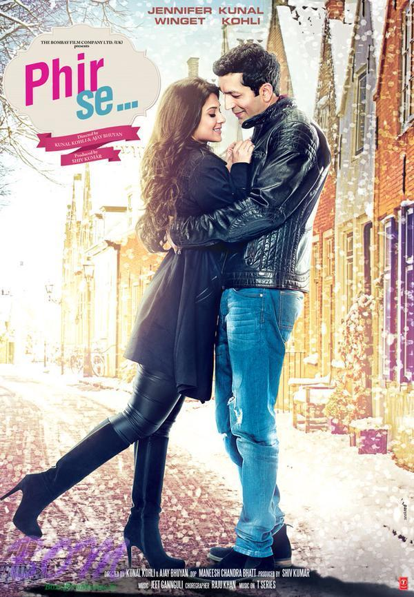 Kunal Kohli's upcoming Phir Se movie poster with Jennifer Winget