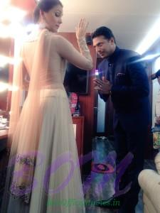 Lara Dutta quirky picture with husband Mahesh Bhupati