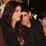Latest picture of Twinkle Khanna with son Aarav Kumar on 30 Nov 2016