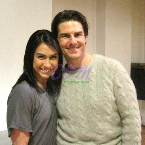Lauren Gottlieb with Tom Cruise