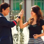 Love between Shahrukh and Kajol in Dilwale movie