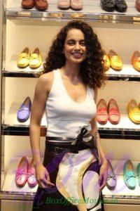 Lovely Kangana Ranaut at the re-launch of the Tods store at the Palladium