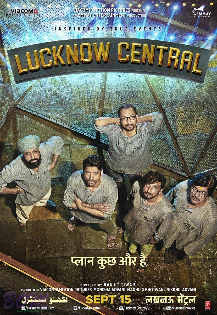 Lucknow Central movie poster will all band members