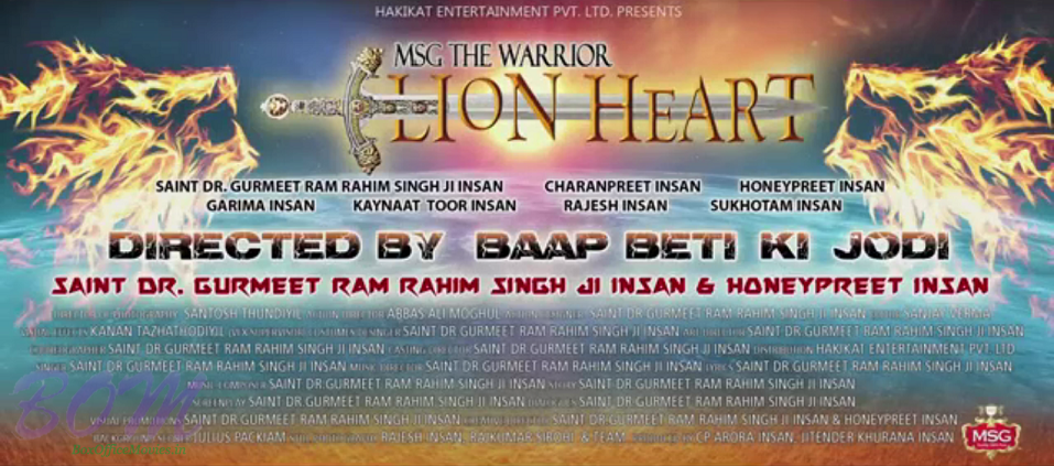 MSG Lion Heart Movie Details