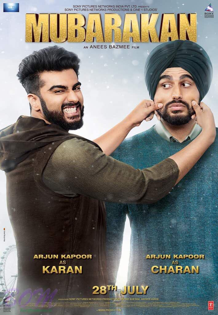 MUBARAKAN First Look Poster