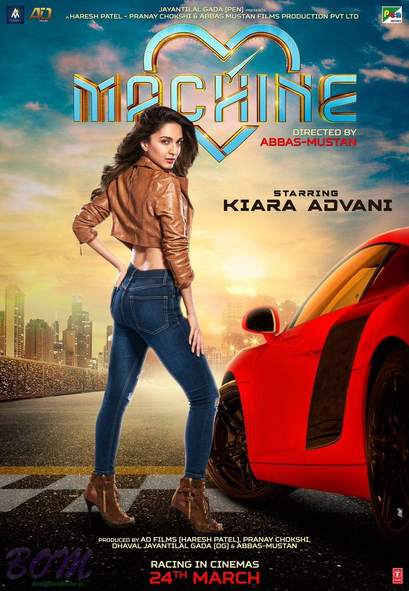 Kiara Alia Advani starrer Machine movie poster