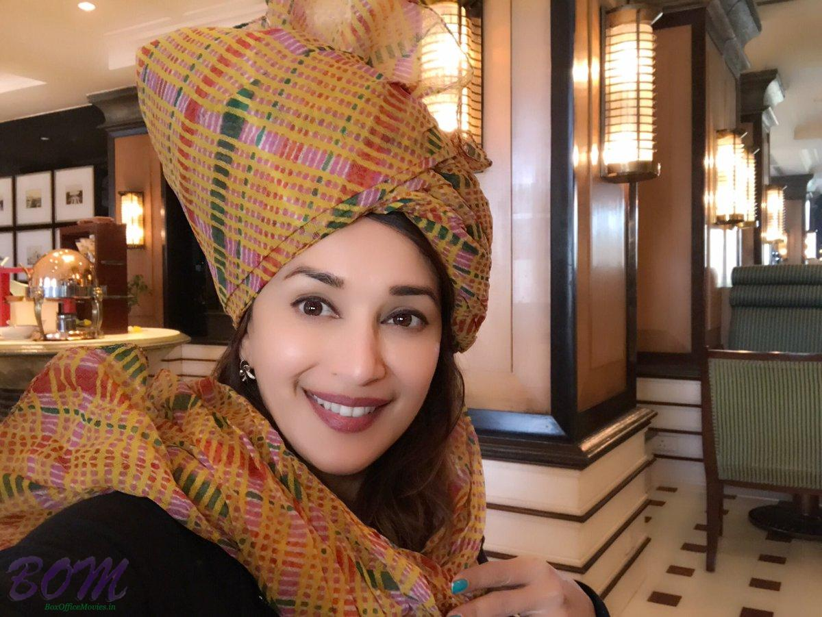 Madhuri Dixit-Nene Rajasthani style by year end 2016