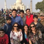 Madhuri Dixit Nene and family while traveling around in India during Christmas 2016