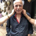 Mahesh Bhatt quirky pic on the sets of Kalank